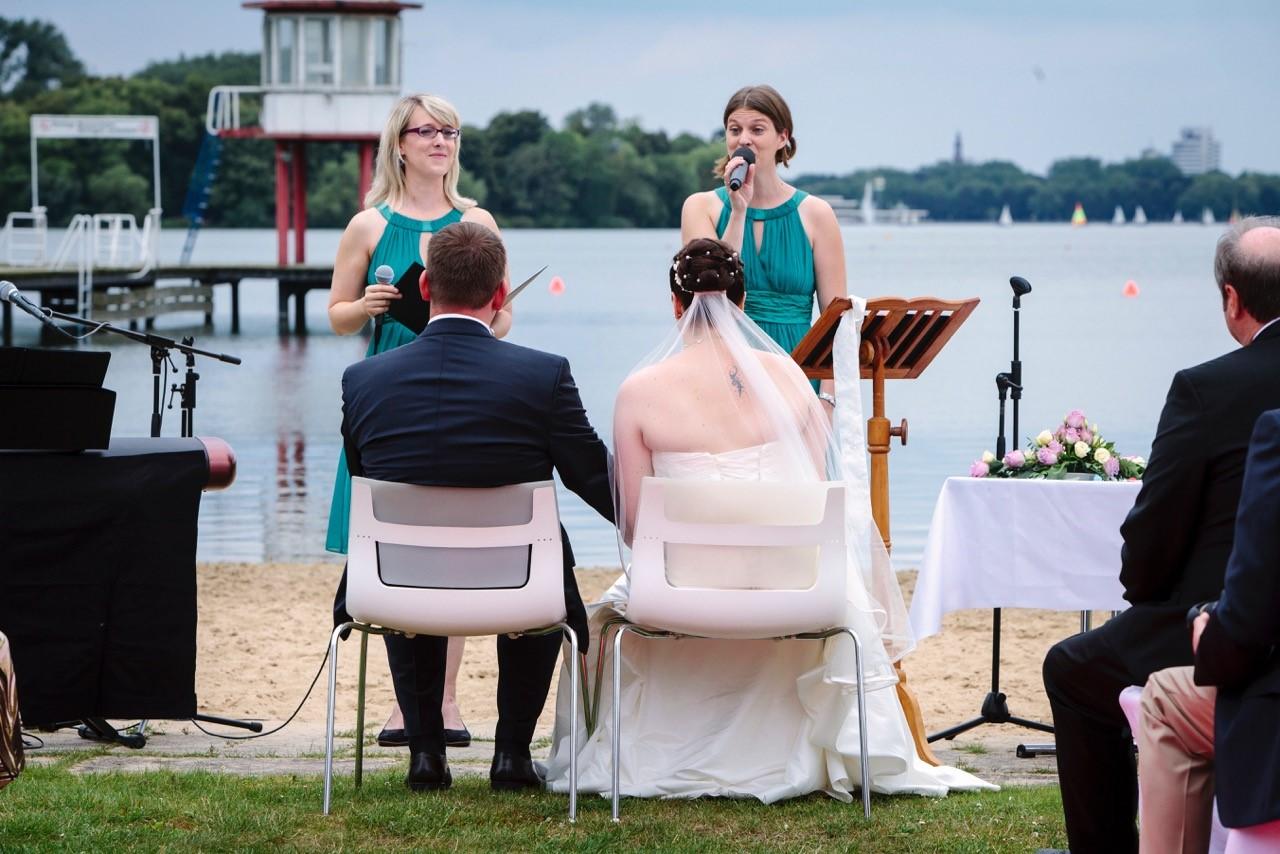 Foto Birte und Anne-Brit Gäbel Musik und Moderation für Ihr Event